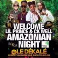 Soirée Amazonian Night le 20 mai 2016 au Dékalé, Toulouse ! Venez nombreux ! Bienvenue aux chanteurs CK Well de Maripasoula (Guyane Française) et Lil Prince de Paramaribo (Suriname), avec […]