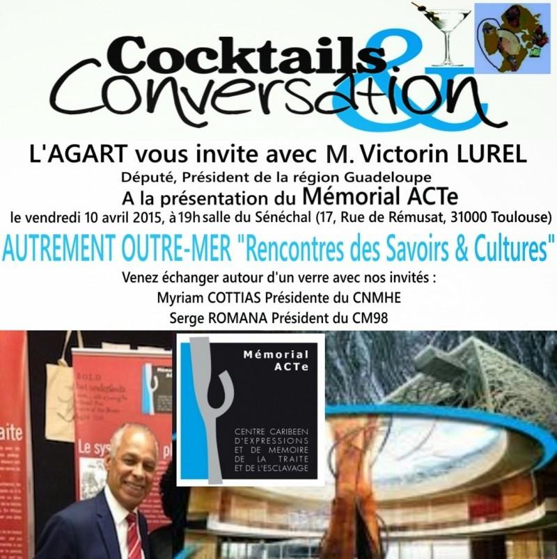 COCKTAILS & CONVERSATION:  Le Mémorial ACTe