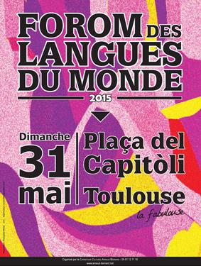 Chercheurs d'Autres, le Haut-Maroni au Forum des Langues 31 Mai 2015 au Capitole