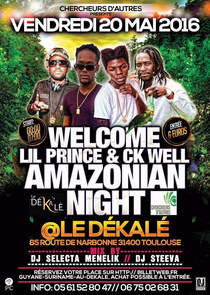 20 mai 2016 Amazonian Night @ Toulouse