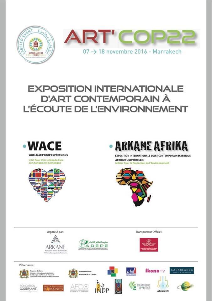 Résidence photographique COP 22 pour Jean Marc Aspe en partenarait avec Arkane Africa