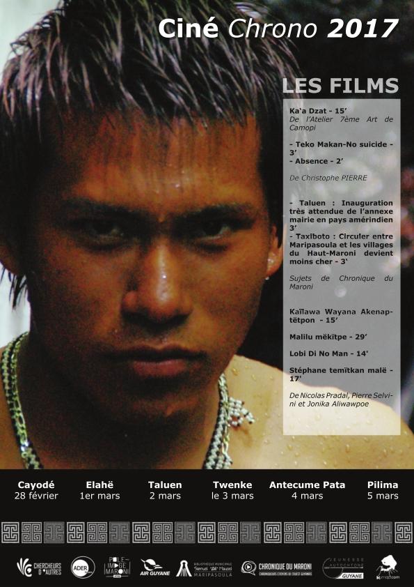 Ciné Chrono 2017 Haut Maroni