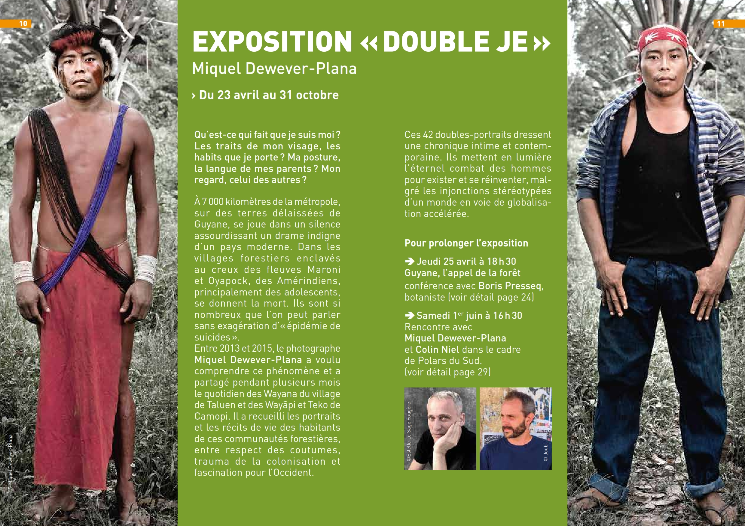 Exposition Double Je au jardin Muséum de Toulouse