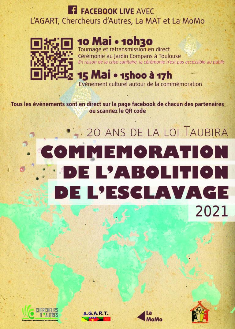Commémoration de l'abolition de l'esclavage  2021